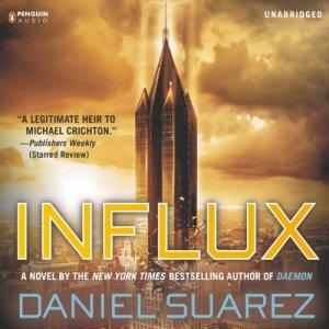 Influx audiobook cover art