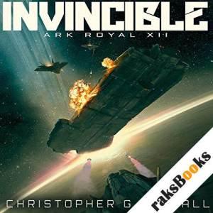 Invincible audiobook cover art