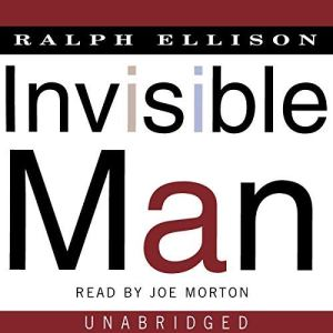 Invisible Man audiobook cover art
