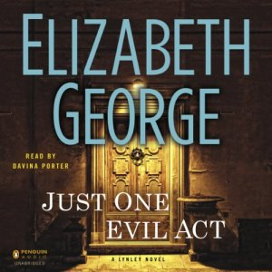 Just One Evil Act audiobook cover art