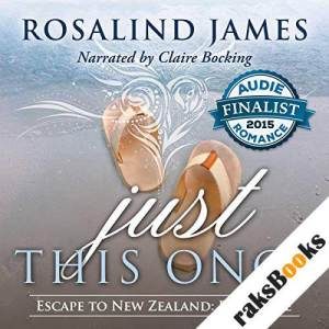 Just This Once audiobook cover art