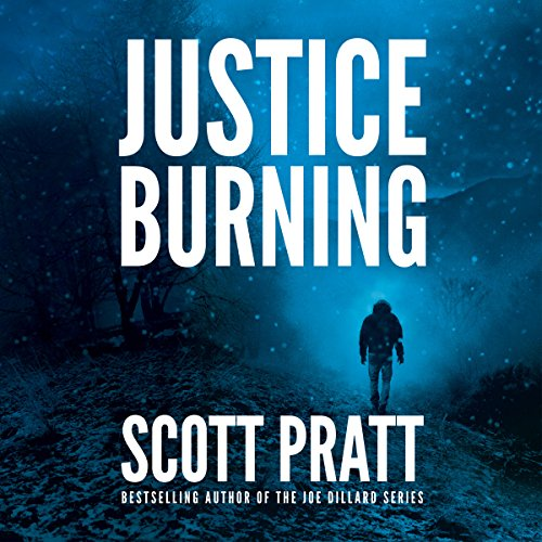 Justice Burning audiobook cover art