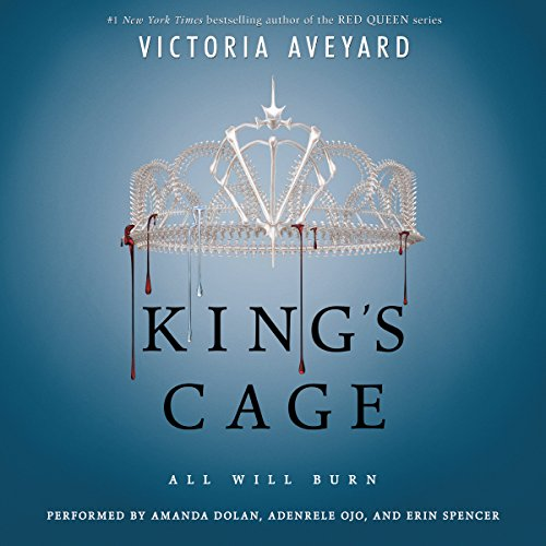 King's Cage audiobook cover art
