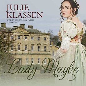Lady Maybe audiobook cover art