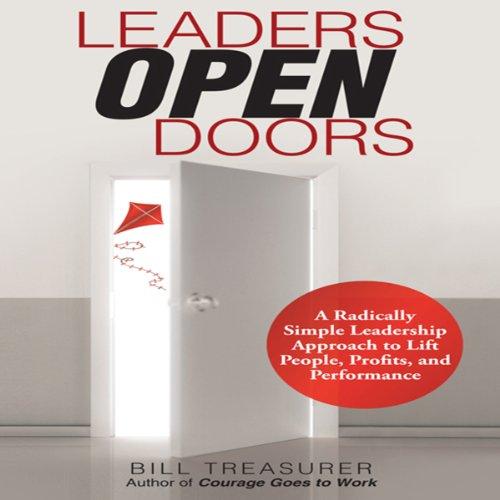 Leaders Open Doors audiobook cover art