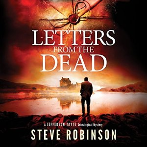 Letters from the Dead audiobook cover art