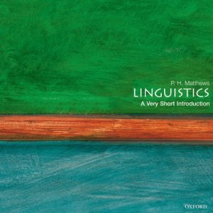 Linguistics: A Very Short Introduction audiobook cover art