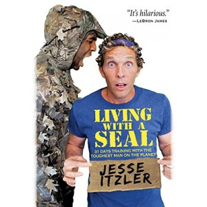 Living with a SEAL audiobook cover art