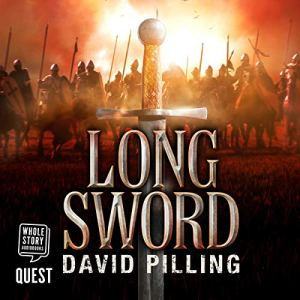 Longsword audiobook cover art