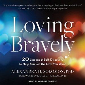 Loving Bravely audiobook cover art