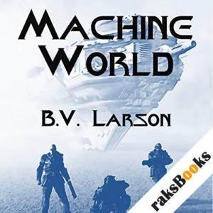 Machine World audiobook cover art