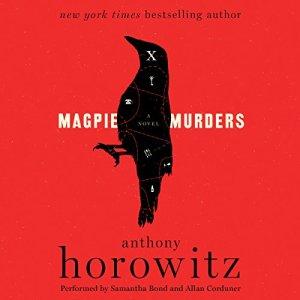 Magpie Murders audiobook cover art