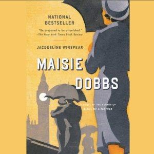 Maisie Dobbs audiobook cover art