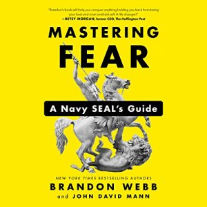 Mastering Fear audiobook cover art