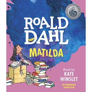 Matilda audiobook cover art