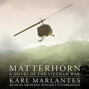 Matterhorn audiobook cover art
