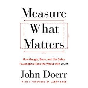 Measure What Matters audiobook cover art