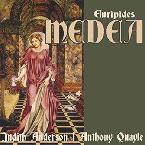 Medea audiobook cover art