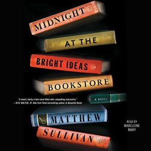 Midnight at the Bright Ideas Bookstore audiobook cover art