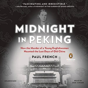 Midnight in Peking audiobook cover art
