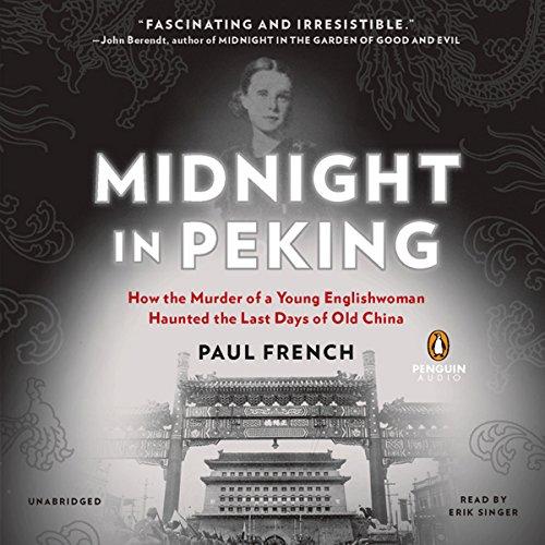 Midnight in Peking audiobook cover art