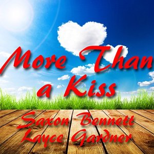 More Than a Kiss audiobook cover art