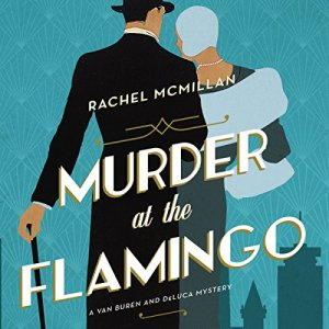 Murder at the Flamingo audiobook cover art