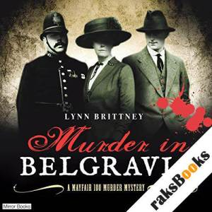 Murder in Belgravia audiobook cover art