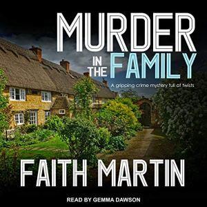 Murder in the Family audiobook cover art