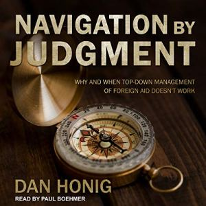 Navigation by Judgment audiobook cover art