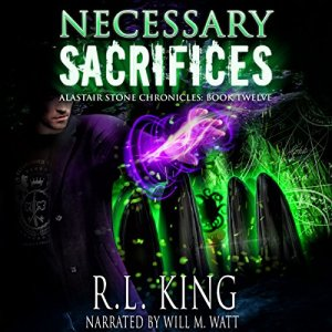 Necessary Sacrifices audiobook cover art