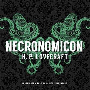 Necronomicon audiobook cover art