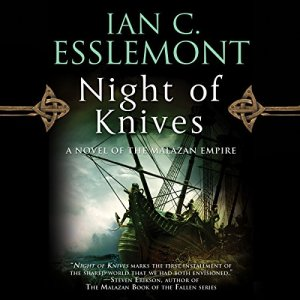 Night of Knives audiobook cover art