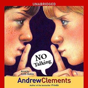 No Talking audiobook cover art