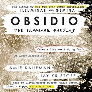 Obsidio audiobook cover art