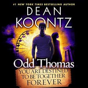 Odd Thomas audiobook cover art