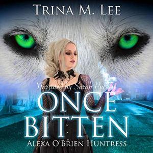 Once Bitten audiobook cover art