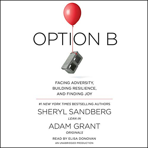 Option B audiobook cover art