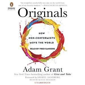 Originals audiobook cover art