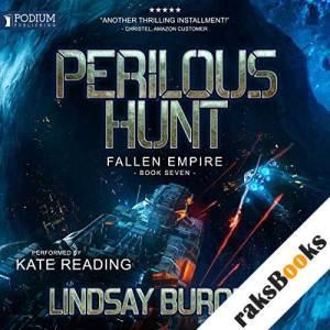Perilous Hunt audiobook cover art
