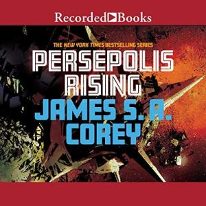 Persepolis Rising audiobook cover art