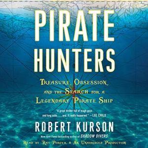 Pirate Hunters audiobook cover art
