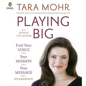 Playing Big audiobook cover art