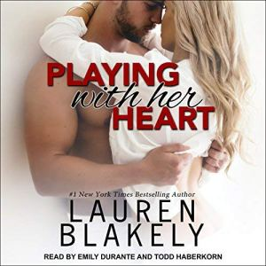 Playing with Her Heart audiobook cover art