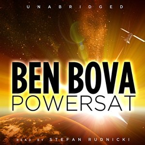 Powersat audiobook cover art