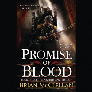 Promise of Blood audiobook cover art
