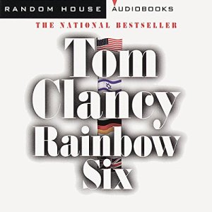Rainbow Six audiobook cover art