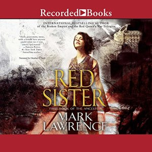 Red Sister audiobook cover art
