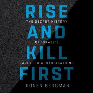 Rise and Kill First audiobook cover art