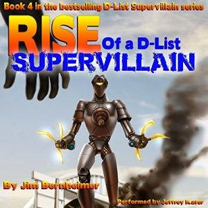 Rise of a D-List Supervillain audiobook cover art